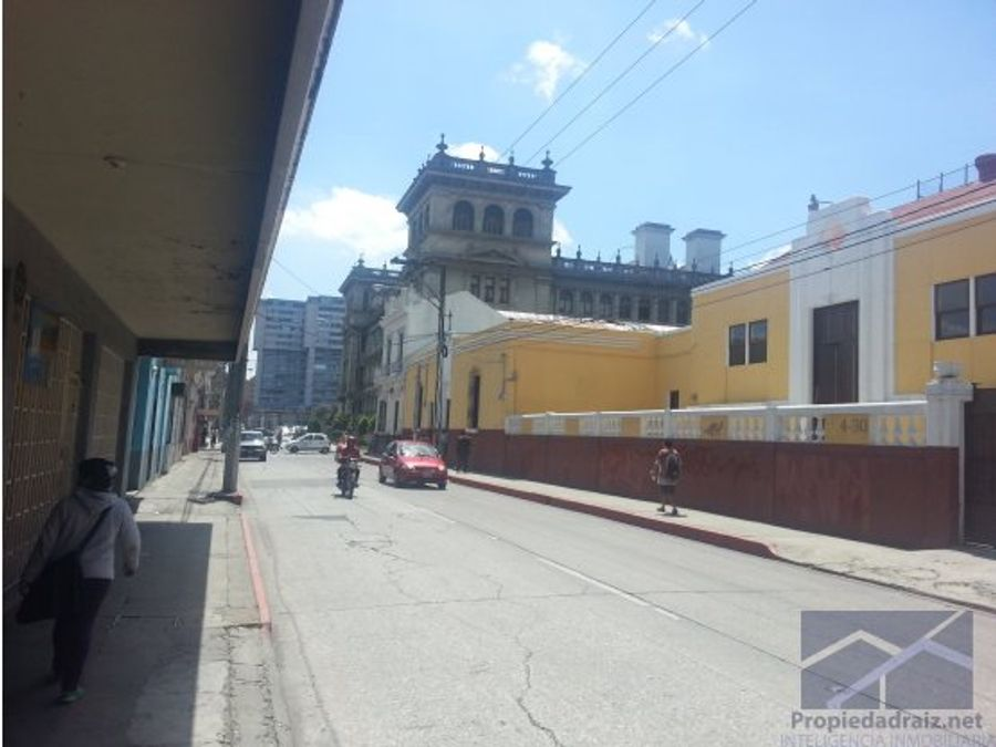 vendo edificio en z1 locales centro historico d