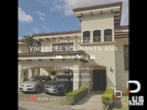 casa en venta valle del sol santa ana jv37