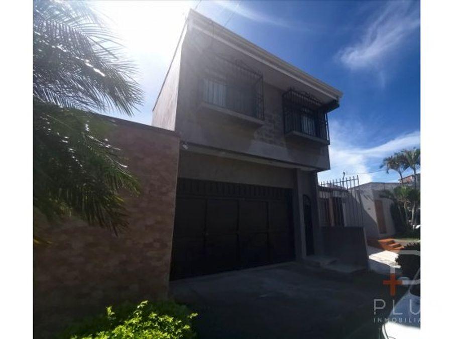 casa en venta la uruca urbanizacion ob17