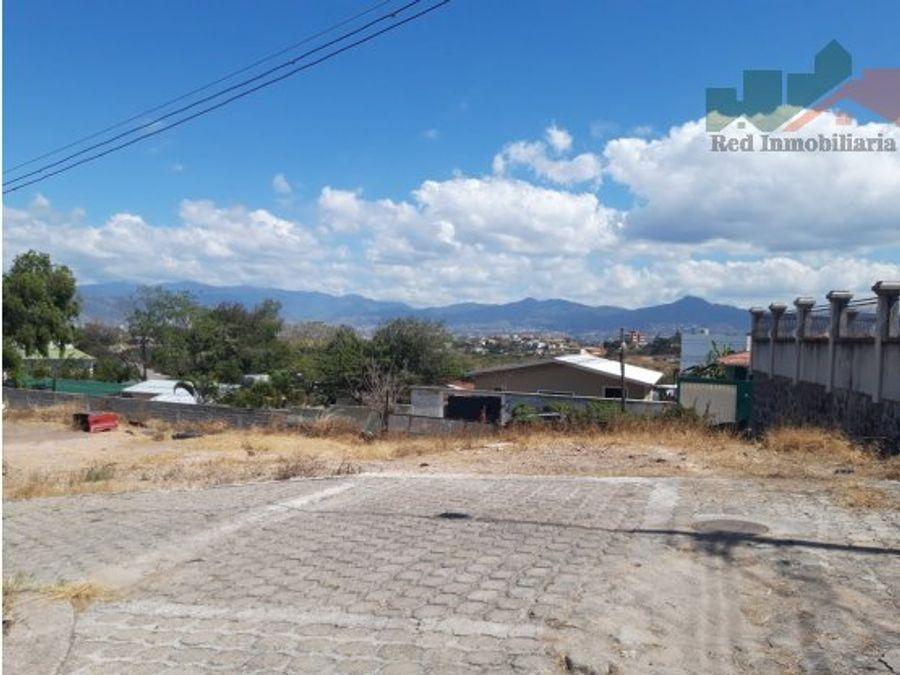 terreno en altos de los angeles tegucigalpa
