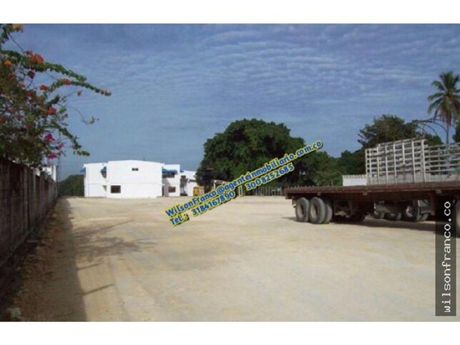 lote en venta zona industrial mamonal cartagena