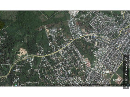 terreno en venta turbaco bolivar via principal