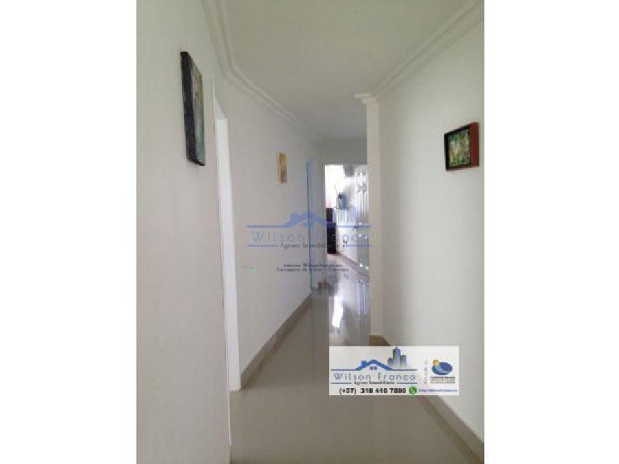 venta apartamento amoblado el laguito cartagena