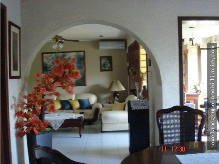 hermosa casa residencial monterreal