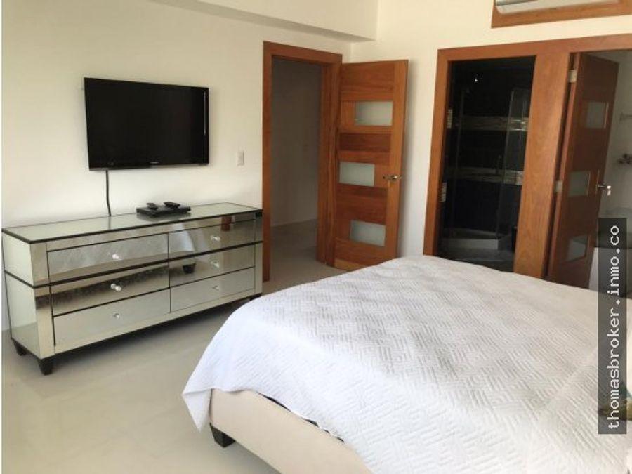 apartamento nuevo 1hab amueblado naco