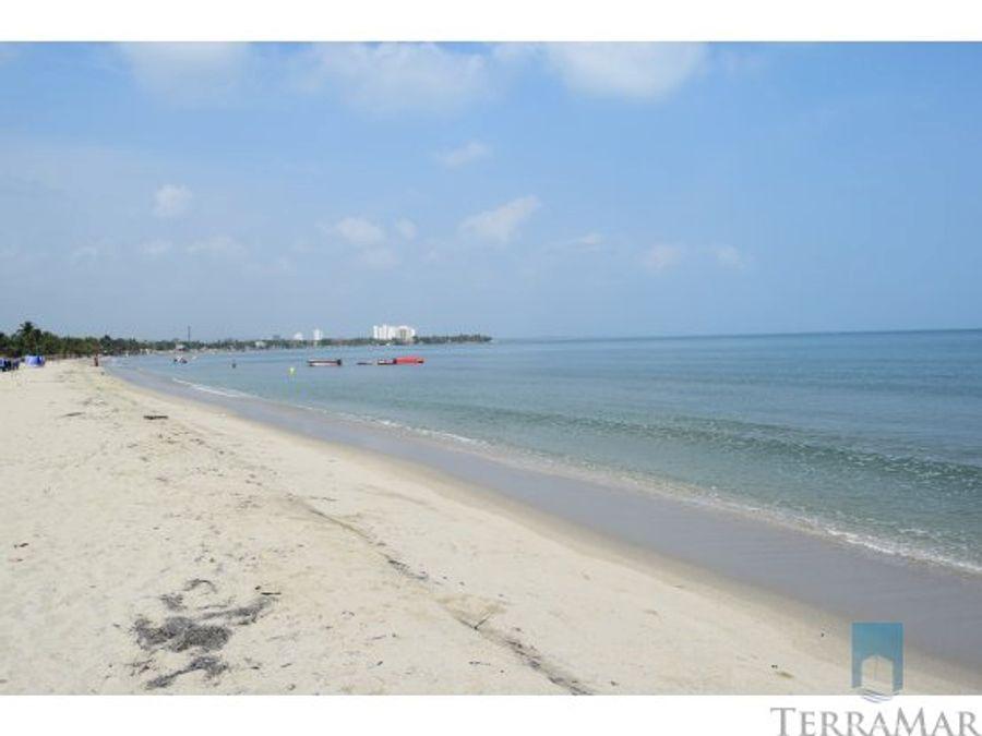 alquiler casas de playa frente al mar covenas