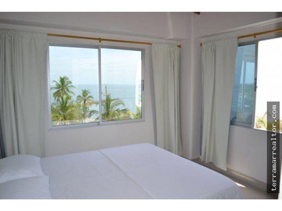 alquiler de apartamentos frente al mar con piscina