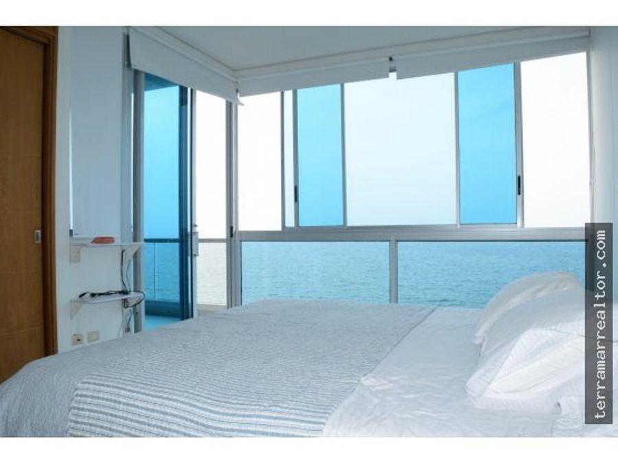 vendo apto duplex covenas frente al mar