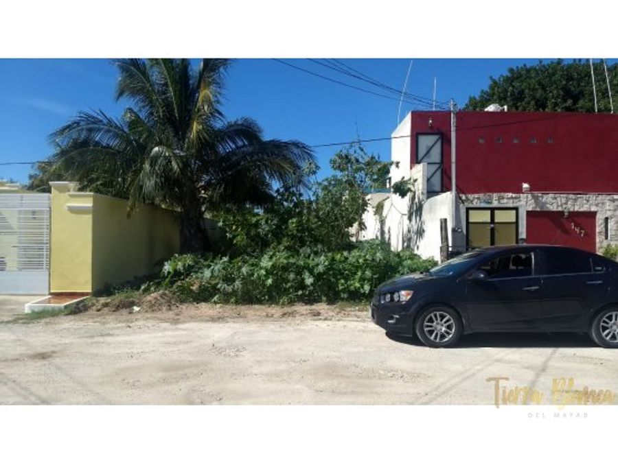 terreno en progreso yucatan