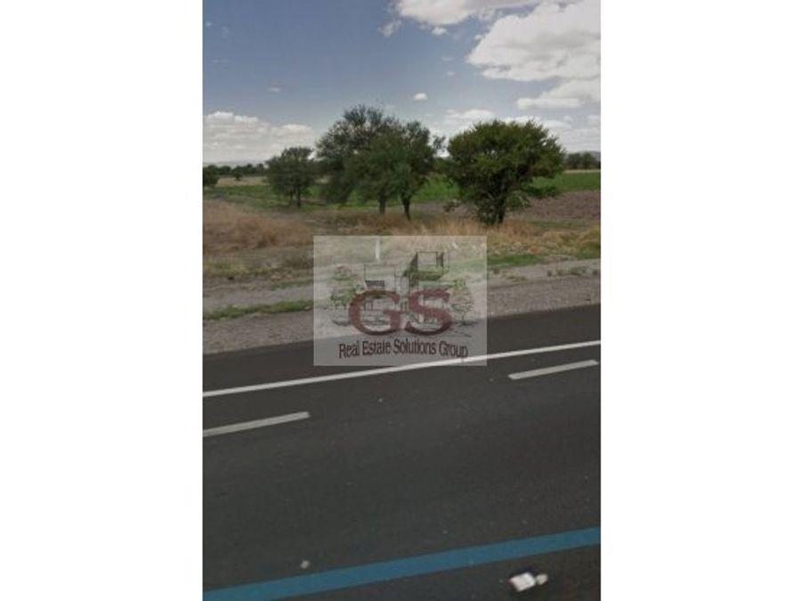 terreno en venta juventino rosas 203 hectreas