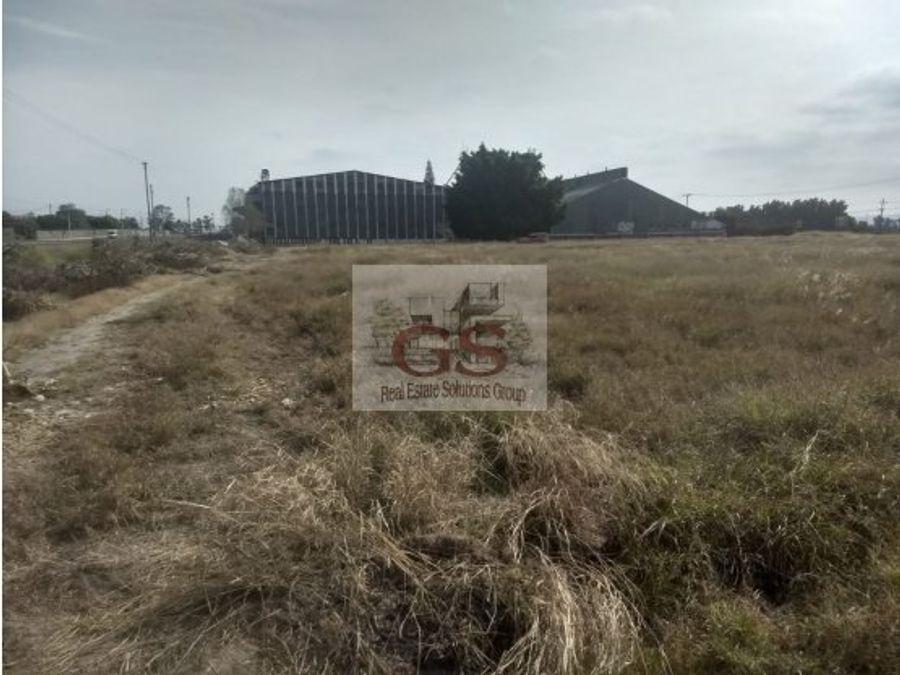 terreno en venta panamericana lateral celaya