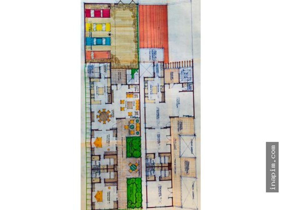 casa duplex potencial para negocio en progreso