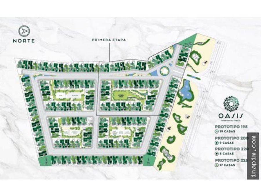 casas nuevas en oasis residencial cholul merida