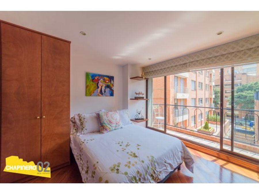 apartamento arriendo amoblado 80 m2 el chico 47 m