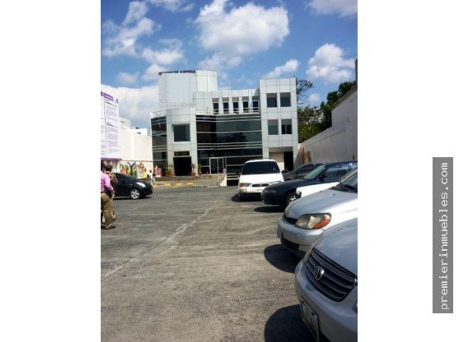 edificio zona 10 renta o venta