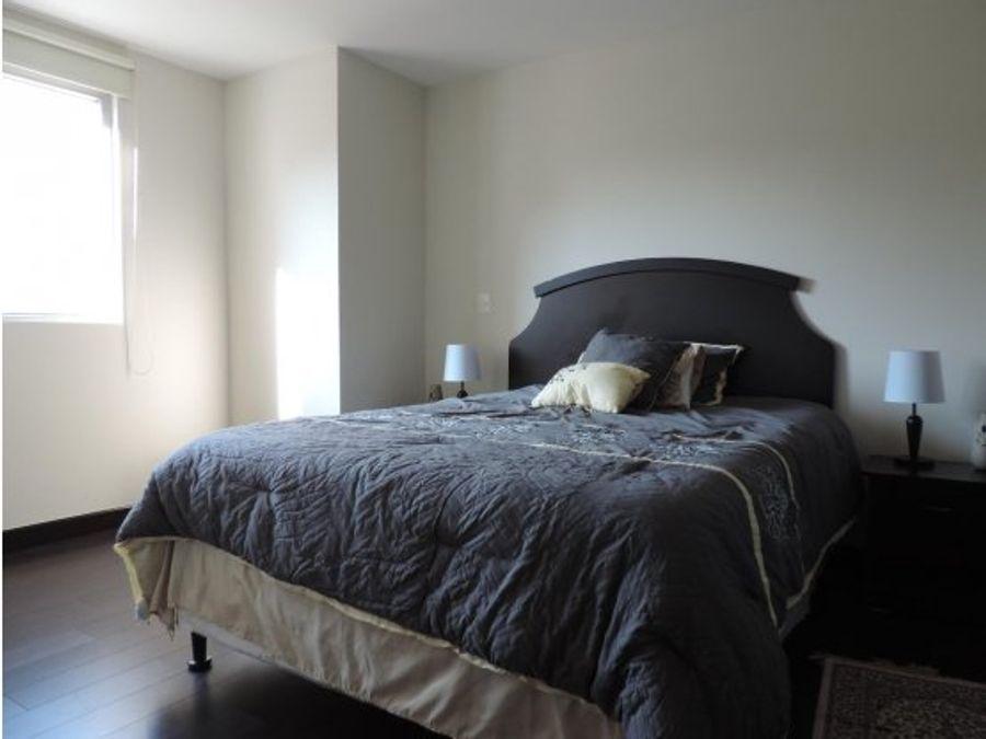 amplio piso de 3 habitaciones amueblado en el corazon de zona 14