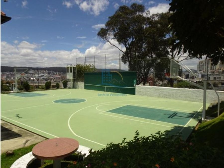 departamento de renta tennis el bosque conjunto con areas comunales