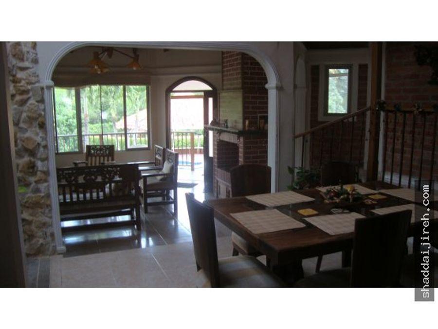 casa campestre en venta sevilla valle