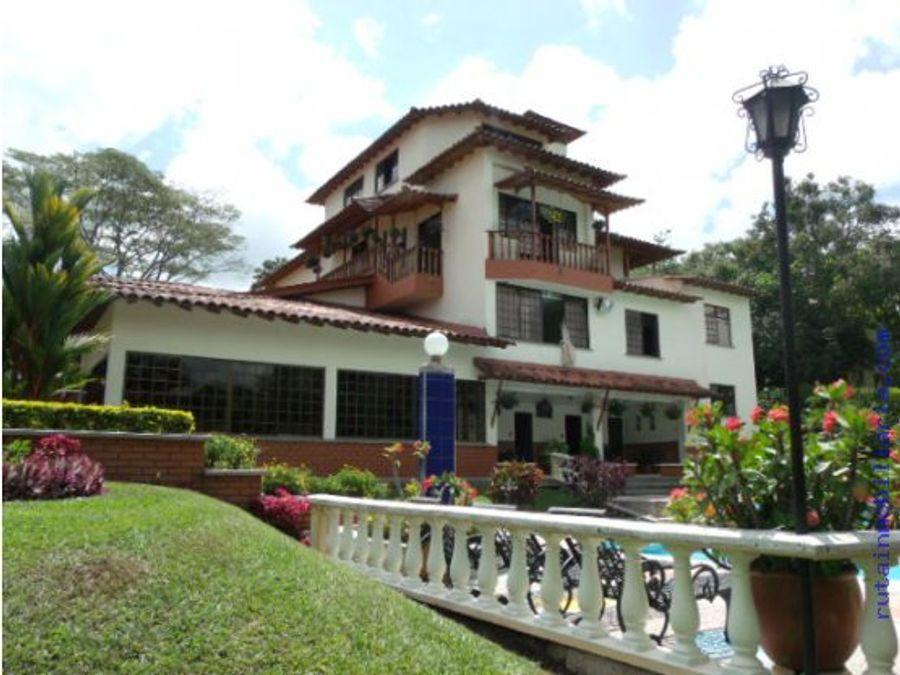 casa grande y magnifica campestre