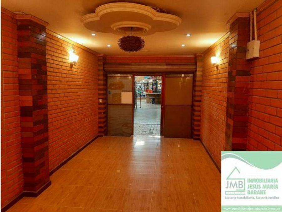 local en arriendo centro comercial portal de soledad