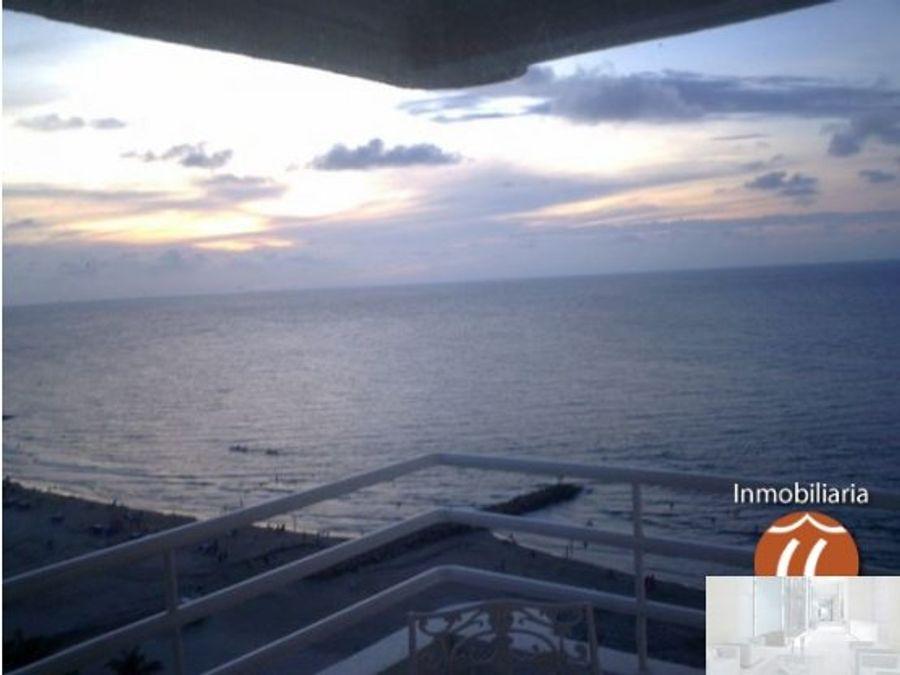 apartamento 1305 ed mar adentro frente al mar