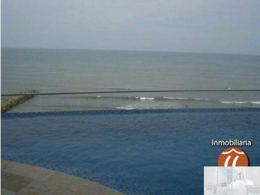 amoblado 2 alcobas eliptic frente al mar