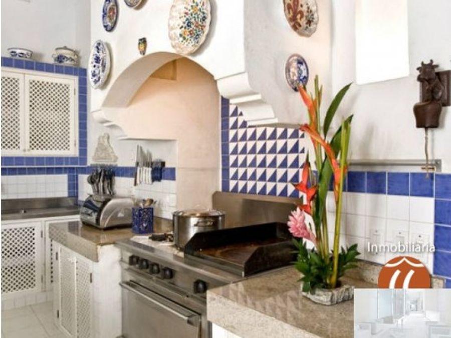 casa quero en centro historico de cartagena