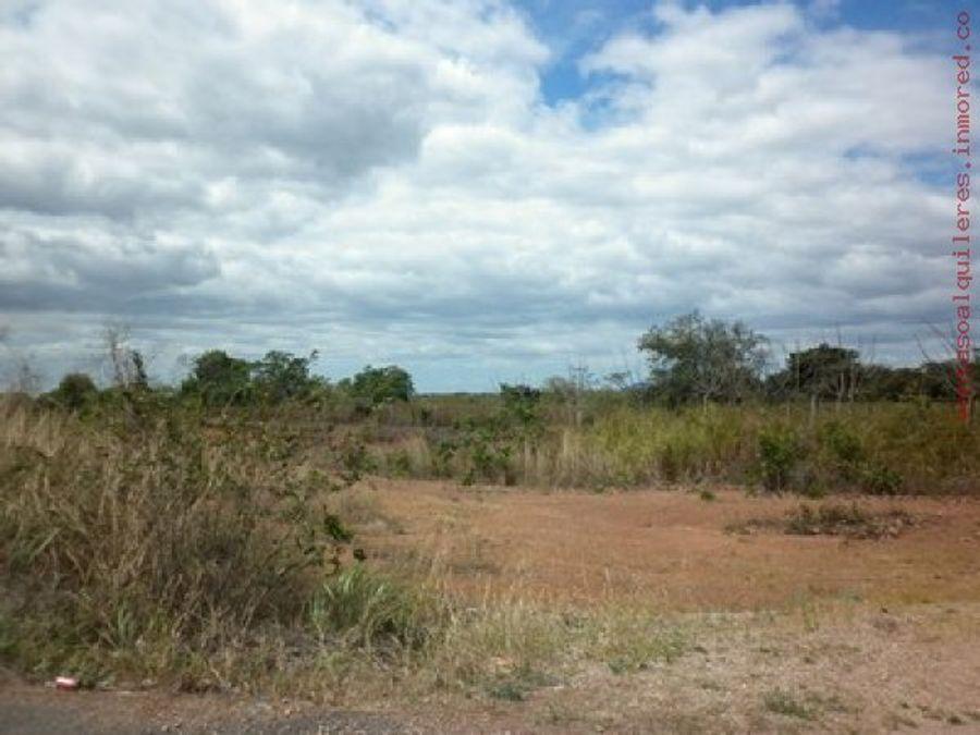 120 hectareas en aguadulce