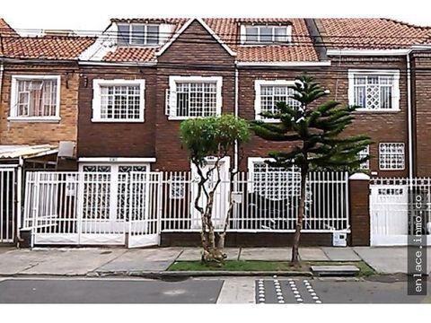 casa de conservacion barrio san luis bogota vendo