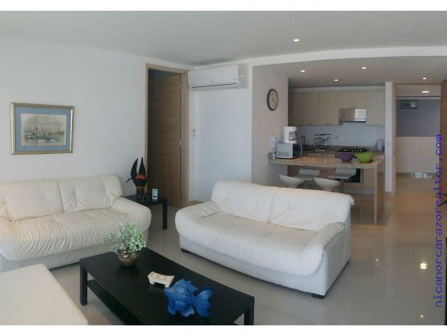 venta apartamento de 2 habitaciones en beach club en crespo cartagena