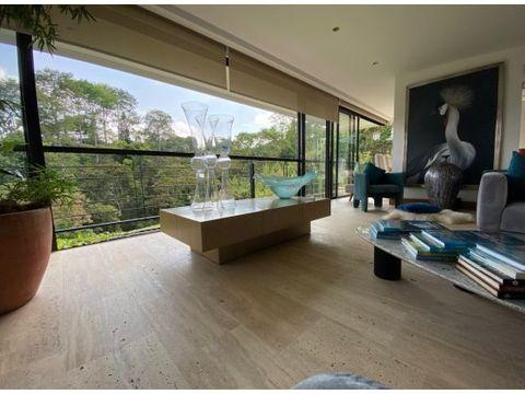 en venta espectacular casa amoblada en condominio pereira