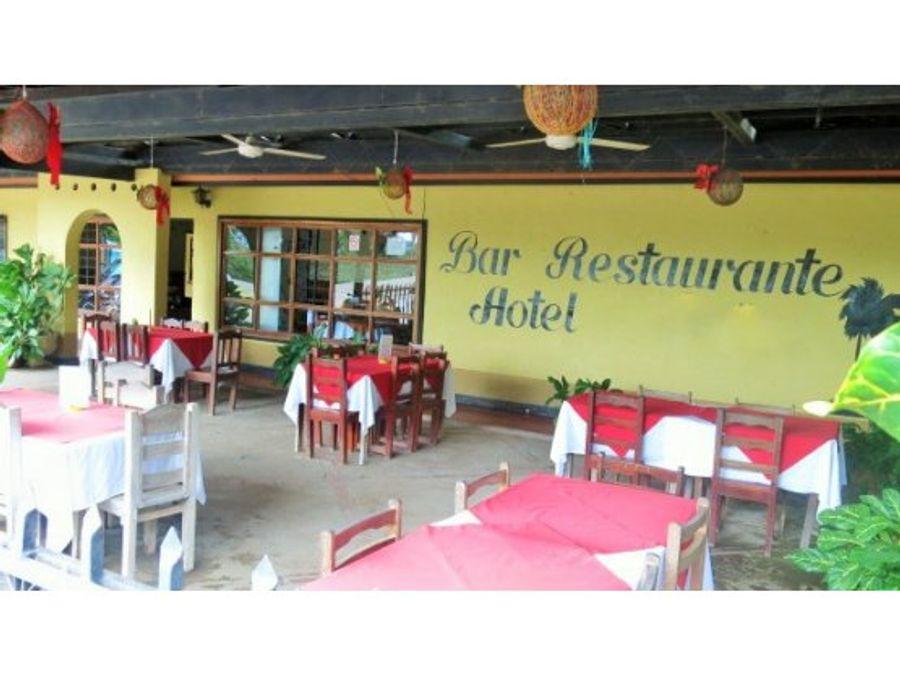 venta hotel playa naranjo puntarenas oportunidad