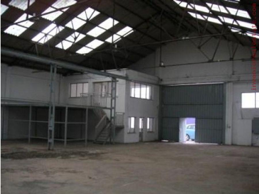 nave industrial en castellon