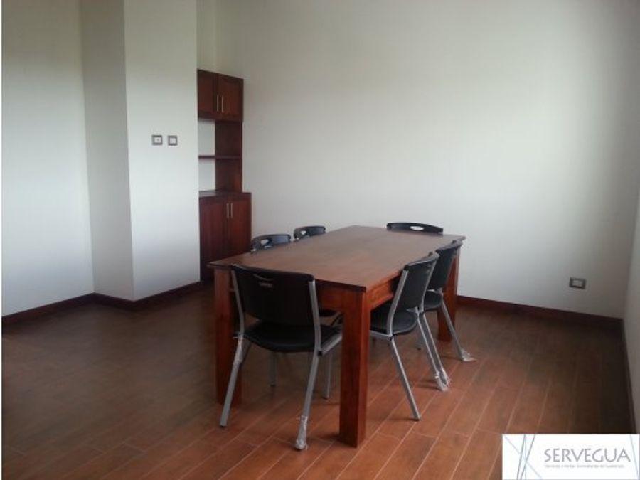 alquiler de apartamento tipo loft en zona 16