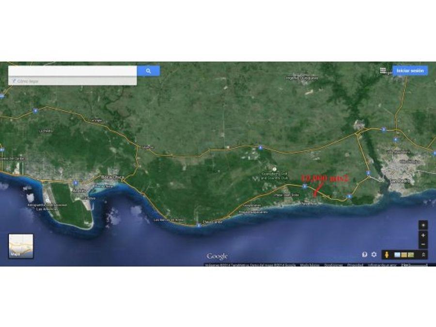 solar 10000 mts de oportunidad en juan dolio