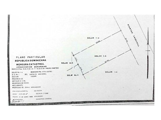 solar con 1575mts2 en la av winston churchill