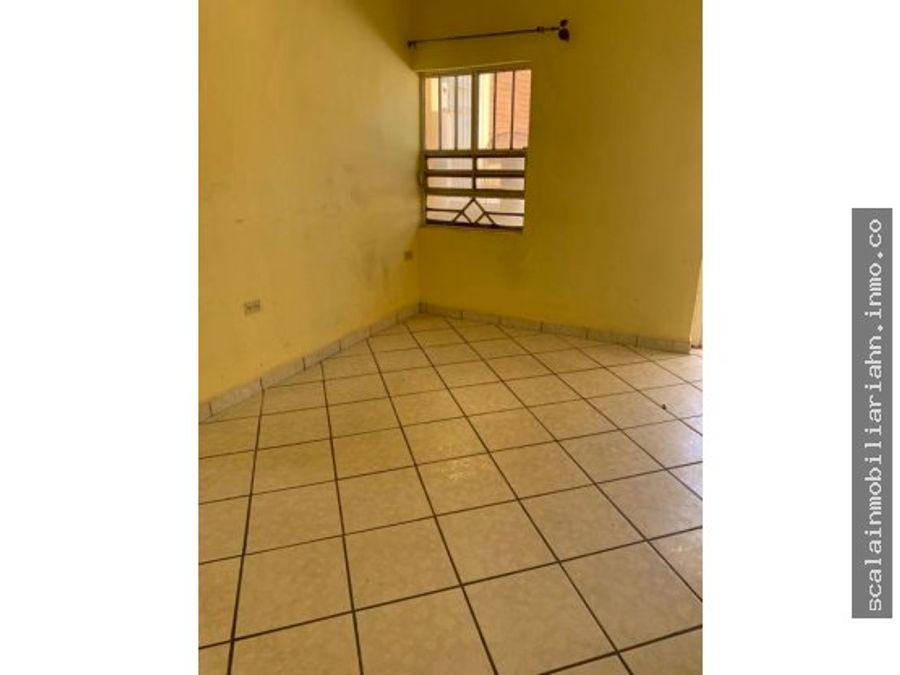 apartamento en alquiler en villa vieja fco moraza