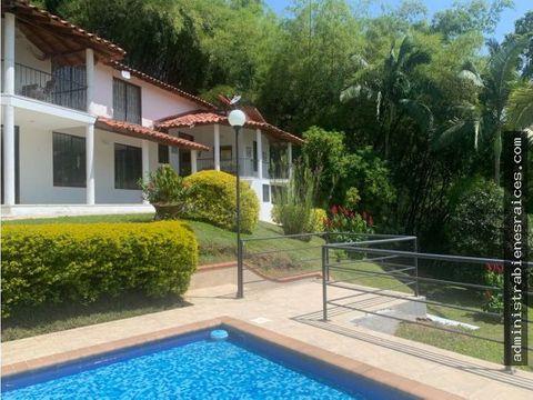 casa campestre amoblada la trinidad manizales