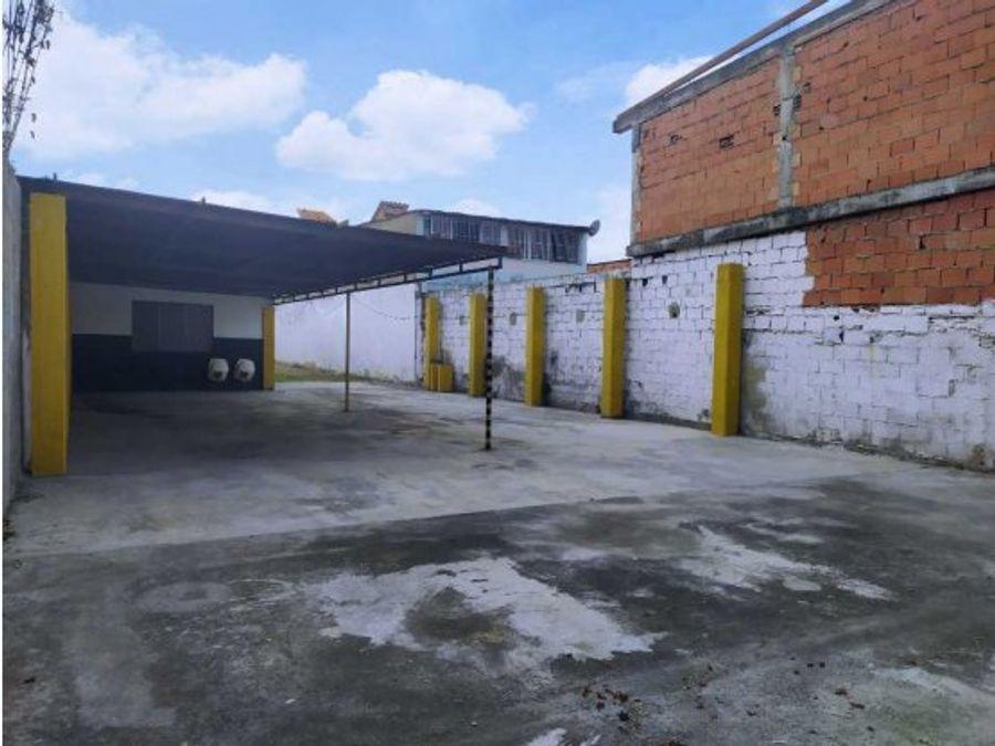 local con terreno en alquiler centro barquisimeto