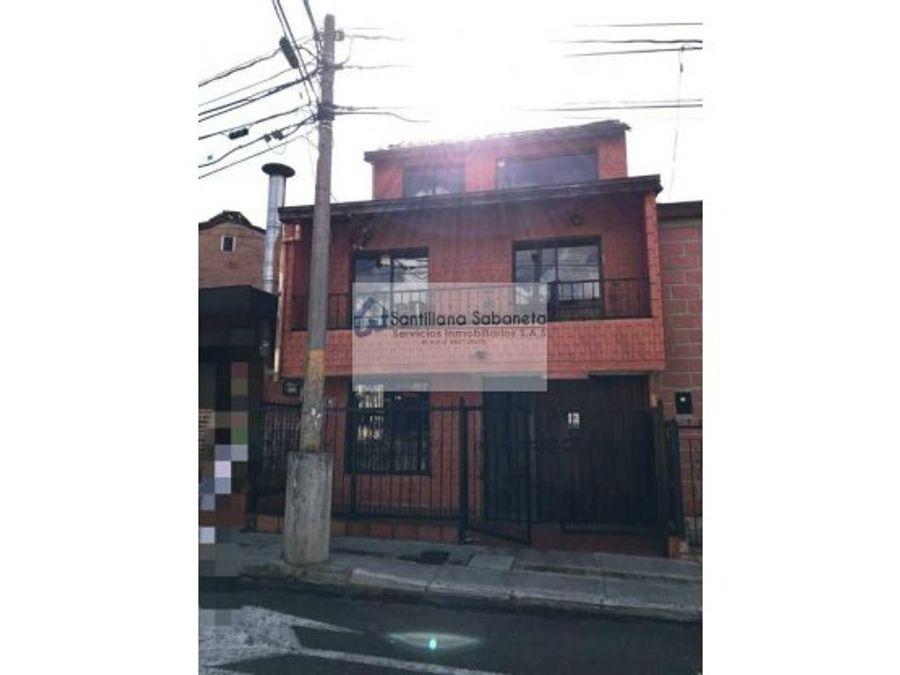 venta casa aliadas sabaneta c72967