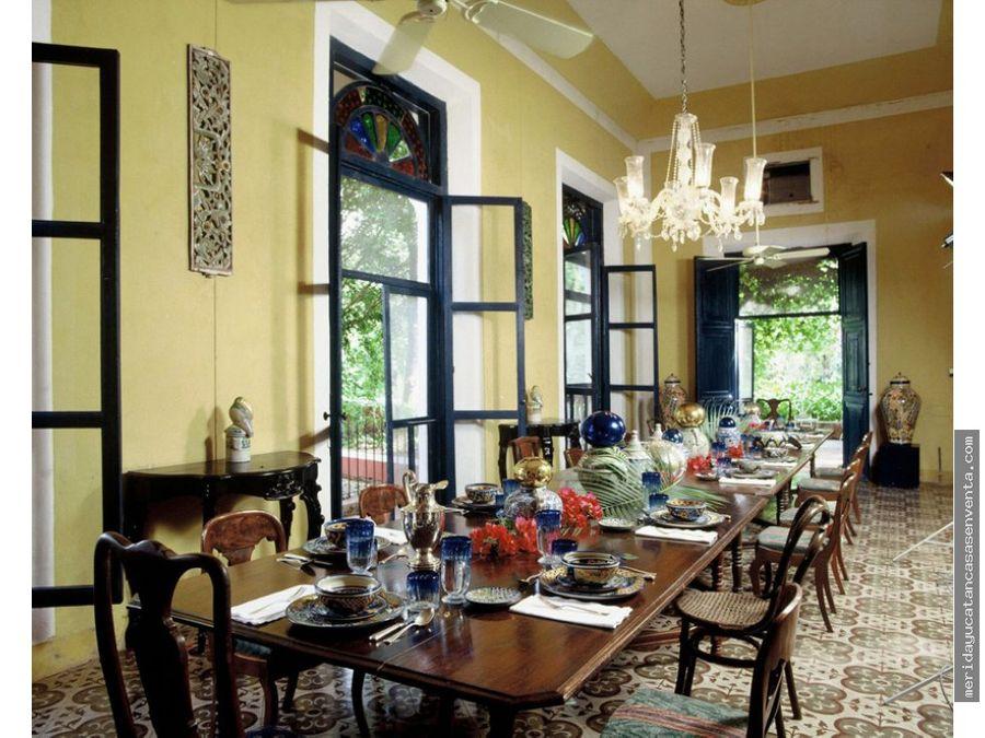 hacienda hotel resort de lujo en venta en yucatan