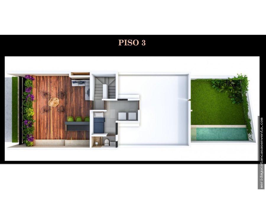 casas residenciales en venta en temozon norte