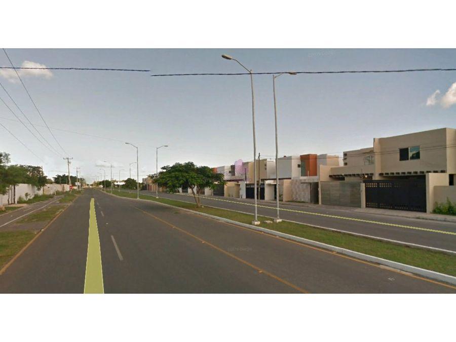 terrenos venta temozon norte en privada simaruba
