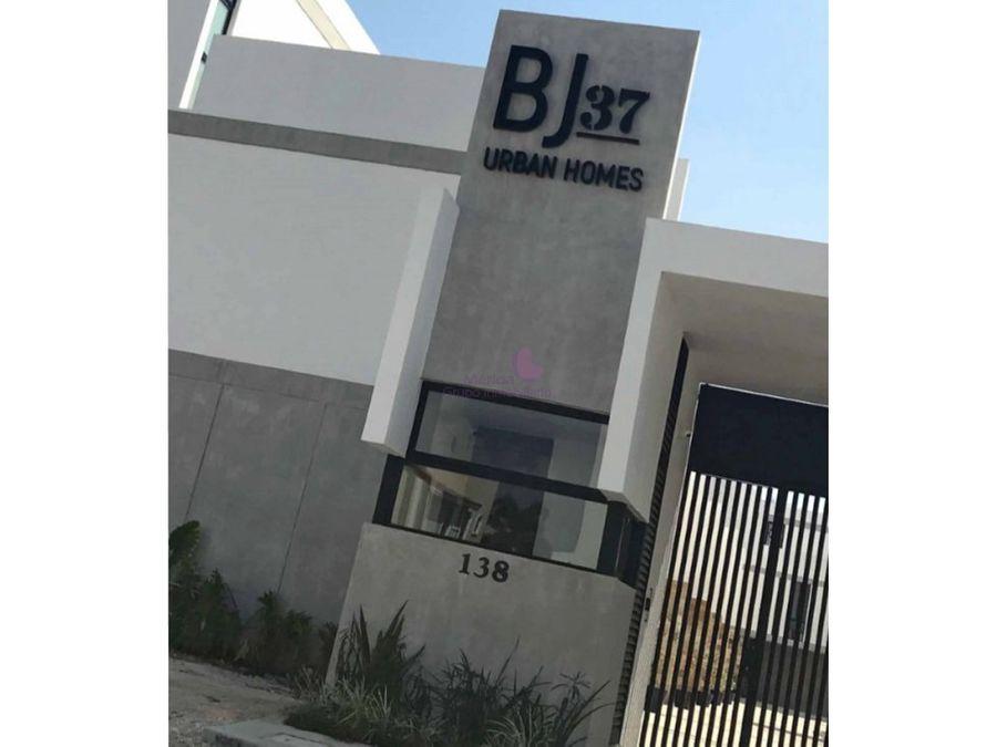vive en benito juarez norte merida town houses en venta