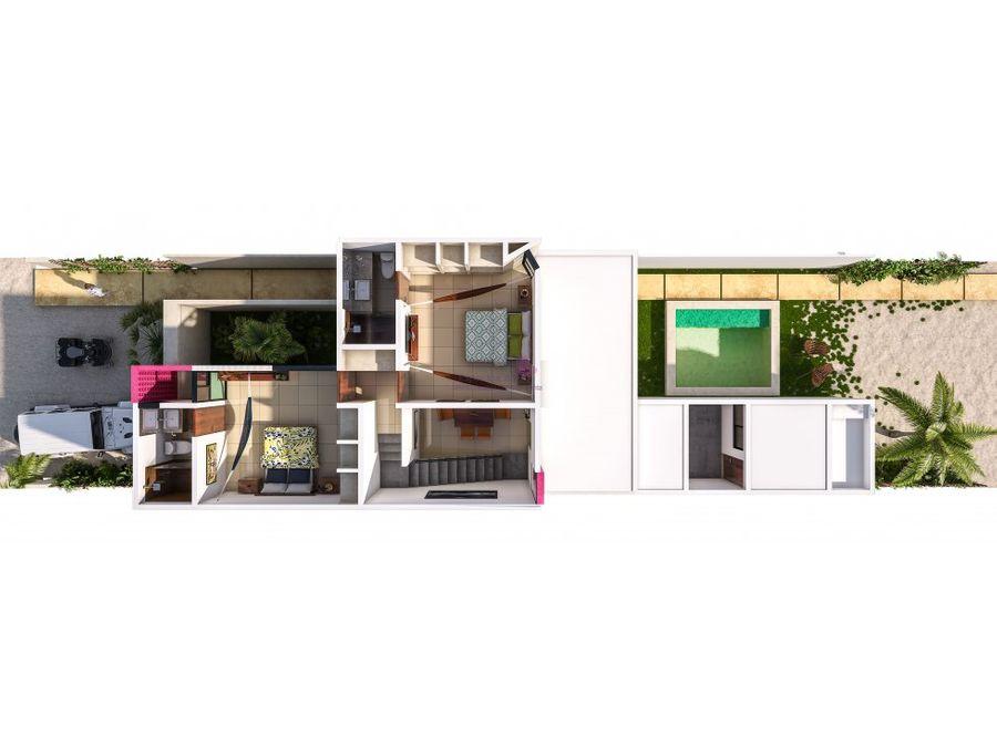 casas en venta e chicxulub puerto tipo villas