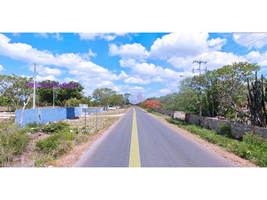 terreno en venta san jose ztal merida 2 hectareas
