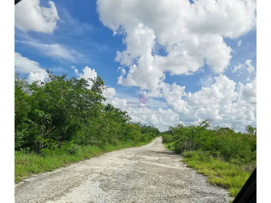 terreno en venta en tixcuytun merida atras cabo norte