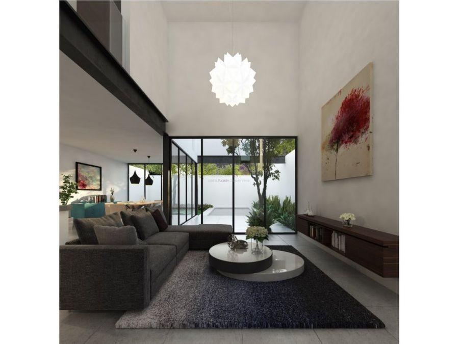 casa en pre venta en santa gertrudis copo merida