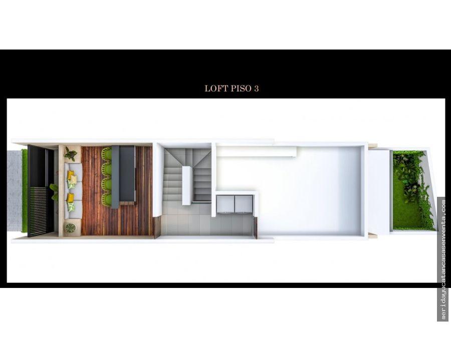 lofts en venta en temozon norte merida