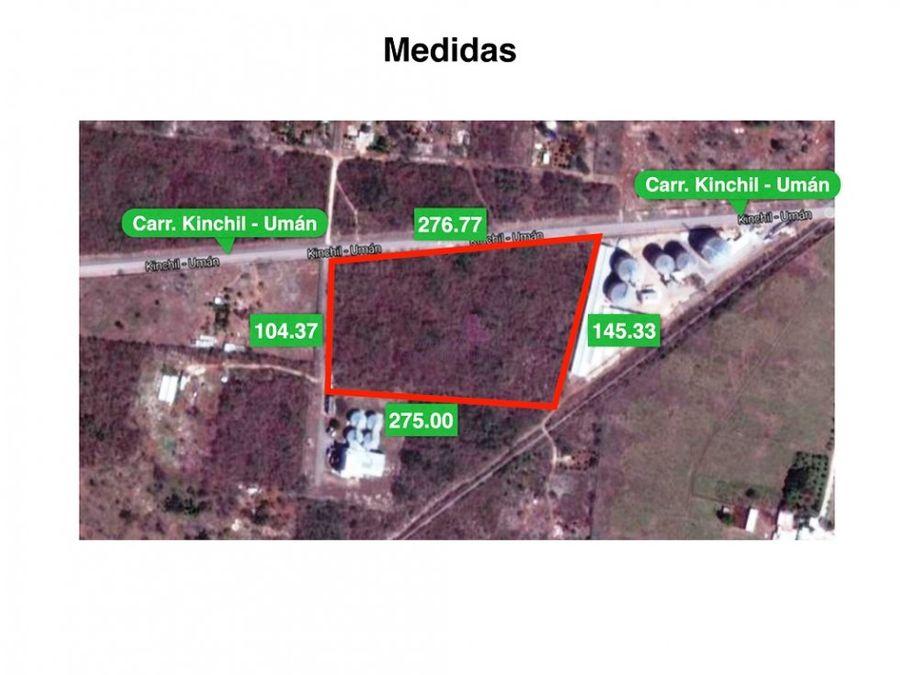 terreno en venta en uman de 34 hectareas